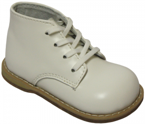 LEATHER BABY WALKING SHOES BY: CAVOO (0441501-2) WHITE