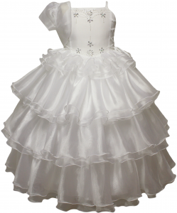 Communion Dress - 0515485White