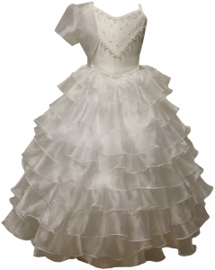 Flower Girl Dress-0515489White