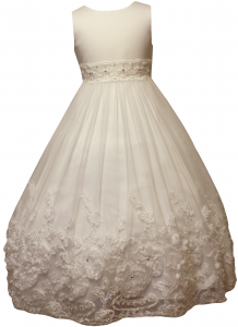 GIRLS FLOWER DRESSES (1242410) IVORY