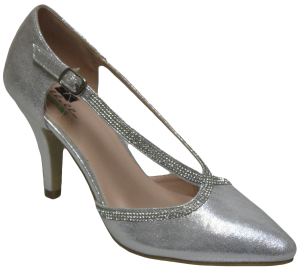 LADIES DRESSY SHOES (2272726) SILVER