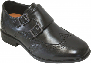 NEW BOYS DRESSY SHOES (2343454) BLACK