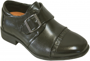 NEW BOYS DRESSY SHOES (2343458) BLACK