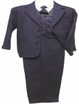 Boys Single Breasted w/ Long Tie 0212233-2H-Navy