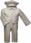 Boys Christening Suit w/ Long Sleeves
