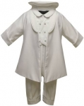 Boys Satin Christening w/ Jacket