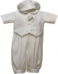 Boys Satin Vest Suit w/o Jacket