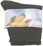Boys Design Dress Socks 022106-1-Black