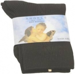 Boys Design Dress Socks 022106-3-Black
