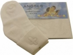 Boys Christening Socks 0221123-White