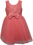 GIRLS CASUAL DRESSES (CORAL)