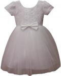 GIRLS CASUAL DRESSES (0232301) IVORY