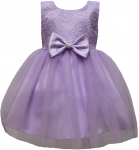 GIRLS CASUAL DRESSES (LILAC)