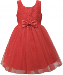 GIRLS CASUAL DRESSES (0232301) RED