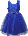 GIRLS CASUAL DRESSES (0232301) R.BLUE