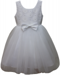 GIRLS CASUAL DRESSES (0232301) WHITE