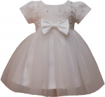 GIRLS CASUAL DRESSES (0232301-1) IVORY