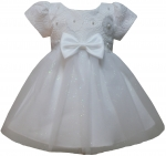 GIRLS CASUAL DRESSES (0232301-1) WHITE