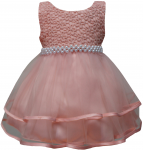 GIRLS CASUAL DRESSES (0232303) BLUSH PINK
