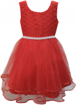 GIRLS CASUAL DRESSES (0232303) RED