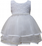 GIRLS CASUAL DRESSES (0232303) WHITE