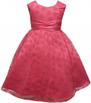 GIRLS DRESSES (FUSHIA)