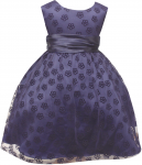 GIRLS DRESSES (NAVY)