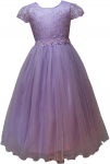 GIRLS CASUAL DRESSES  (0232319) LILAC