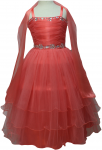 GIRLS CASUAL DRESSES  (0232322) CORAL