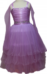 GIRLS CASUAL DRESSES  (0232322) LILAC