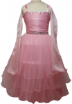 GIRLS CASUAL DRESSES  (0232322) PINK