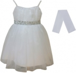 GIRLS COLOR DRESSES (0232327) WHITE