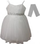 GIRLS COLOR DRESSES (0232327) IVORY