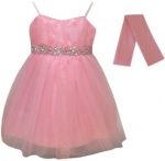 GIRLS COLOR DRESSES (0232327) PINK