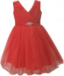 GIRLS COLOR DRESSES (0232330) RED