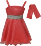 GIRLS COLOR DRESSES (0232331) CORAL