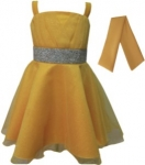 GIRLS COLOR DRESSES (0232331) GOLD
