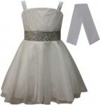 GIRLS COLOR DRESSES (0232331) IVORY