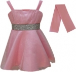 GIRLS COLOR DRESSES (0232331) PINK
