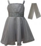 GIRLS COLOR DRESSES (0232331) SILVER
