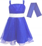 GIRLS COLOR DRESSES (0232331) TURQ