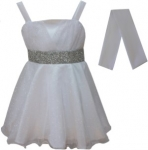 GIRLS COLOR DRESSES (0232331) WHITE