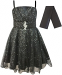 GIRLS COLOR DRESSES (0232332) BLACK