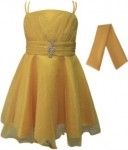 GIRLS COLOR DRESSES (0232332) GOLD