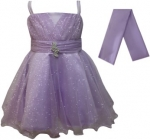 GIRLS COLOR DRESSES (0232332) LILAC