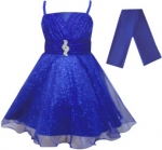 GIRLS COLOR DRESSES (0232332) R.BLUE