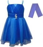 GIRLS COLOR DRESSES (0232332) TURQ