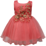 GIRLS CASUAL DRESSES (0232338) CORAL