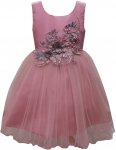 GIRLS CASUAL DRESSES (0232338) ROSE PINK