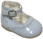 High Top Shoe w/ Rhinestones- Belt Buckle